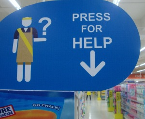 press for help