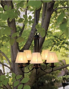 waterproof outdoor chandelier