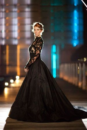 Black wedding dresses giving bridal gowns a different twist black wedding gown junglespirit Image collections