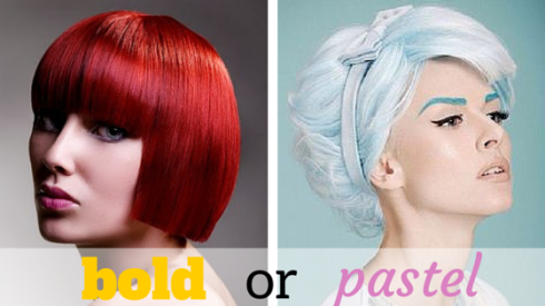 bold or pastel